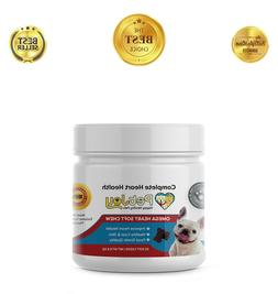 ZPAW Omega 3 Chews for Dogs Skin and Coat Supplements Dog Fa