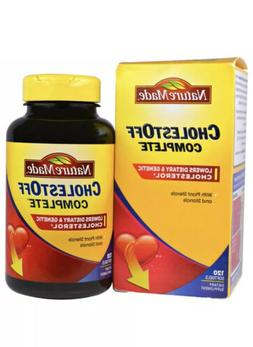 Nature Made CholestOff Complete 120 Softgels Dietary Supplem