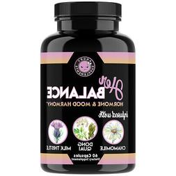 Angry Supplements Her Balance Women's Hormone & Mood, PMS &