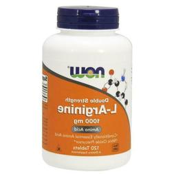 Now Foods L-Arginine Double Strength 1000 mg - 120 Tablets F
