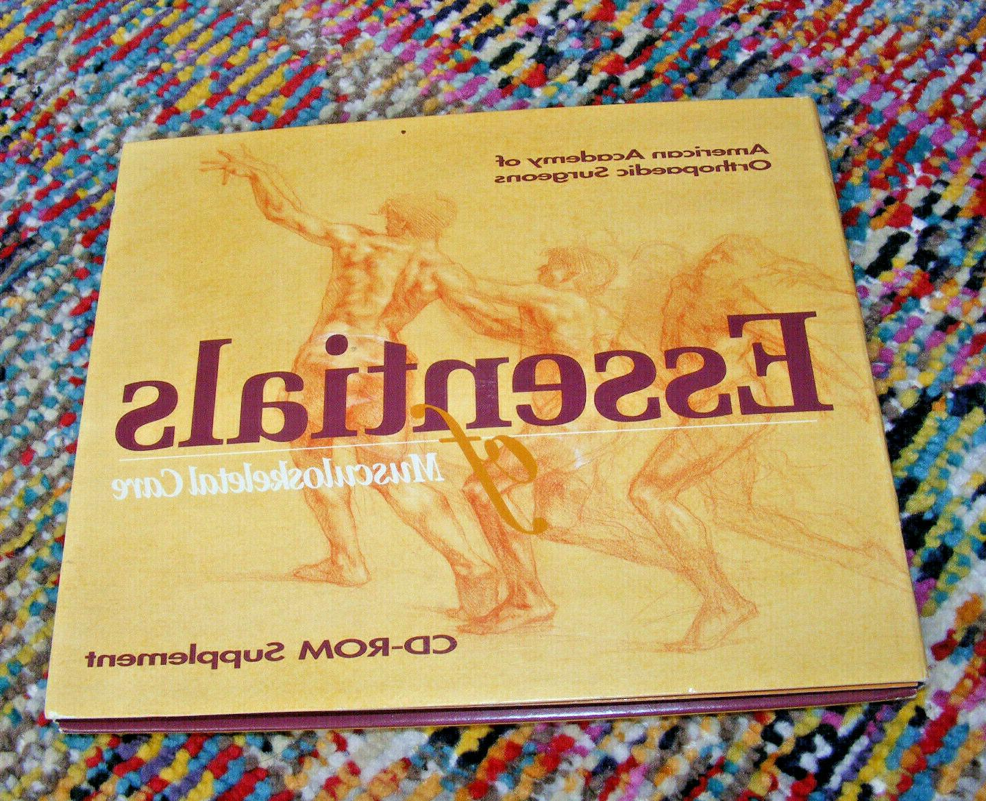 1999 essesntials of musculoskeletal care cd rom