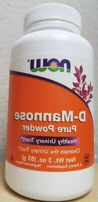 Now Foods D-Mannose Pure Powder Urinary Tract Dietary Supple