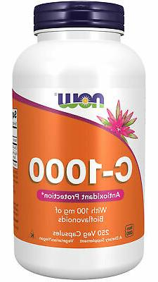 NOW Supplements, Vitamin C-1,000 with 100 mg of Bioflavonoid