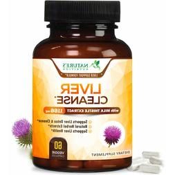 Liver Cleanse & Detox Support Supplement 1166mg with 22 herb