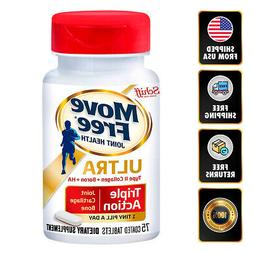 Schiff Move Free Ultra Triple Action Joint Supplement Collag