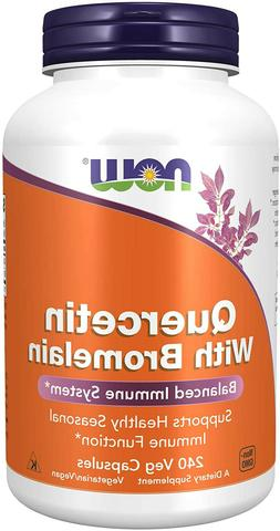NOW Foods Supplements_Quercetin with Bromelain.'Balanced Imm