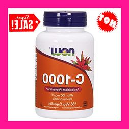 NOW Foods Supplements, Vitamin C-1,000 with 100 mg of Biofla
