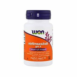 NOW Supplements, Astaxanthin 4 mg, features Zanthin®, 60 Ve