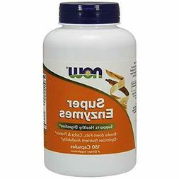 NOW Supplements, Super Enzymes 180 Capsules