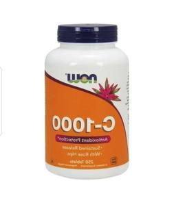 NOW Supplements, Vitamin C-1,000 with Rose Hips, Sustained R