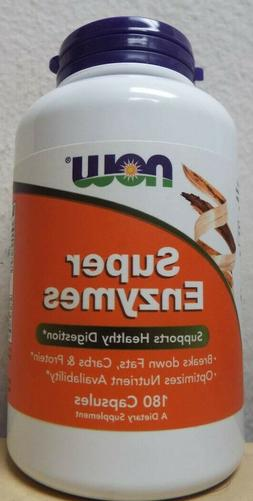 Now Foods Super Enzymes Healthy Digestion Support Supplement