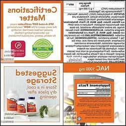 NOW Foods Supplements, NAC, Free Radical Protection  1,000 M