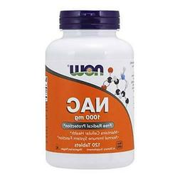 NOW Foods Supplements, NAC  1,000 Mg, Free Radical