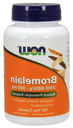 NOW Foods Supplements, Quercetin with Bromelain, 120 Count -