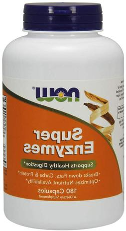 NOW Foods Supplements, Super Enzymes, Formulated with Bromel