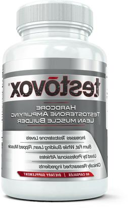 Testovox Extreme Anabolic Testosterone Booster & Muscle Buil