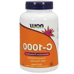 NOW Foods Vitamin C-1000 Sustained Release Tablets