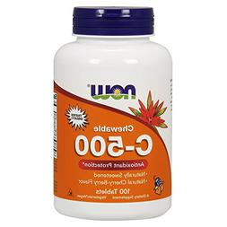 Vitamin C-500 Cherry Chewable 100 Chewable Tablets